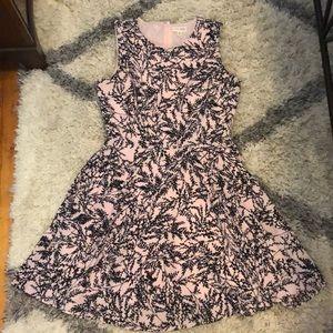 Maison Jules size M pink and black dress